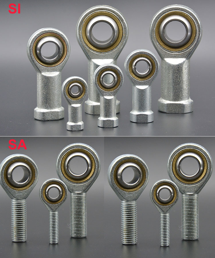 1PCS Oscillating Rose Ball Joint Male Female Rod End Bearing M5 M6 M8 M10 M12 M16 M18 M20 M22 M25 Right Left Hand