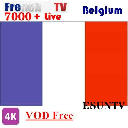 6/12Month French IPtv ESUNIPTV Arabic Dutch TV Spain IPTV Android Tv Box M3u Premium Server Abonnement XXX
