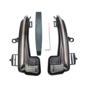 Image 3 - 2 pieces For Skoda Superb B8 MK3 III 3V A7 2016 2017 2018 2019  Dynamic Side Wing LED Turn Signal Blinker Mirror flasher Light