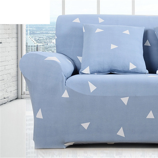 Image 2 - Simple Sofa Cover Elastic For Living Room Printed Cover For Sofa Slipcovers Stretch 1/2/3/4 SeatSofa Cover