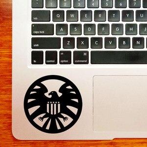 Agenci tarczy gładzik naklejki na laptopa dla Macbook naklejka Pro 16