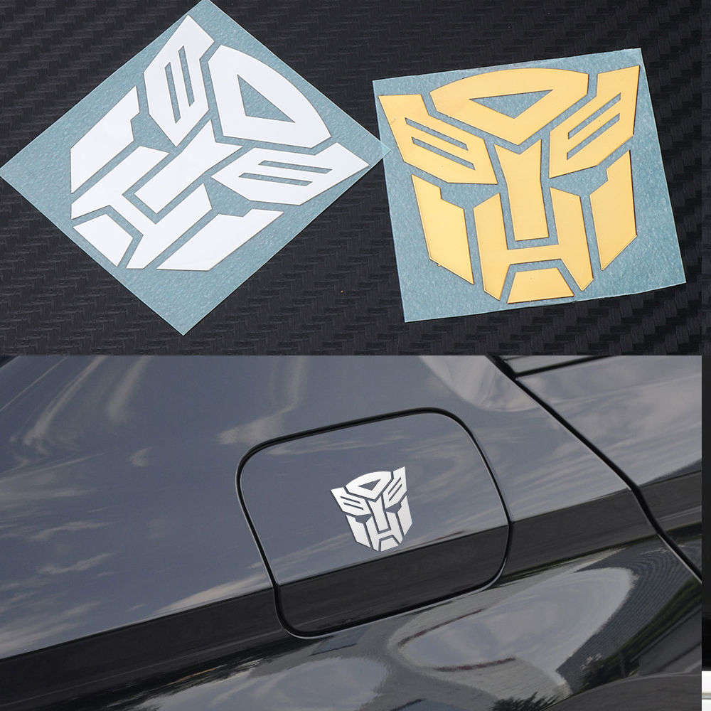 1PCS Car Styling Cool Autobots Logo Metal Alloy Sticker Car Body Trunk Transformers Emblem Bike Decoration Decal Car Accessories