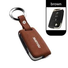 Coque de protection pour clé télécommande, accessoire pour Skoda Superb A7, pour VW Magotan, Passat B8, VW Golf Gte, TIGUAN MK2