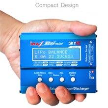 цена на Original SKYRC iMax B6 Mini V2 6A Lipo Battery Balance Charger LCD Display Discharger For RC Model Battery Charging Re-peak Mode