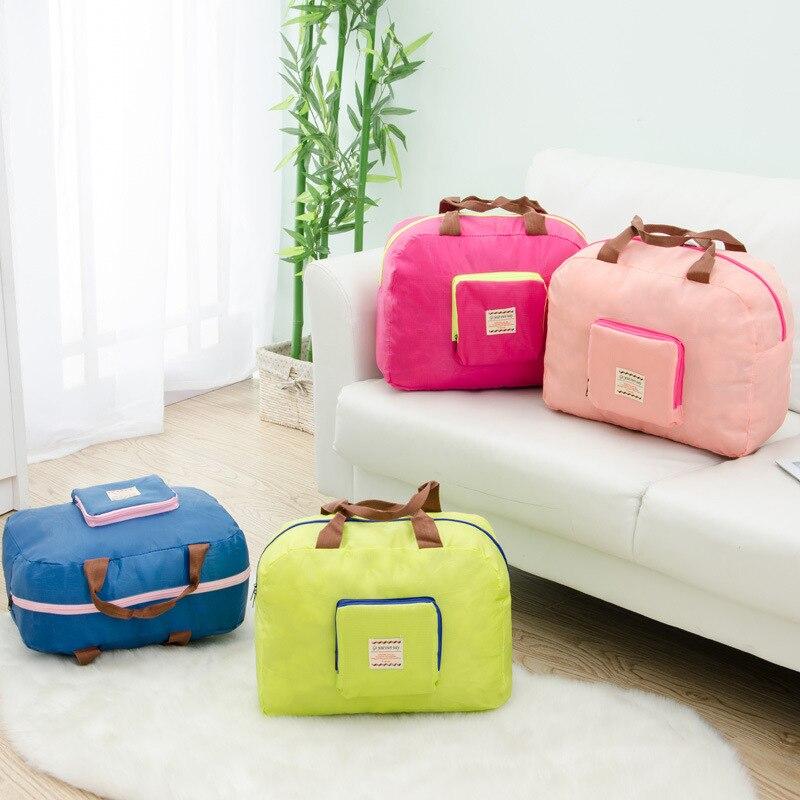 Multifunctional Waterproof Travel Bags Women Men Large Capacity Folding Bag Organizer Packing Cubes Luggage Girl Weekend Bag