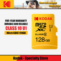 Kodak de alta velocidad de 16GB TF/tarjeta Micro SD cartao 32GB de memoria de class10 U1 64GB tarjeta de memoria Flash mecard Micro sd de 128GB de kart