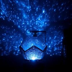 Planetarium galaxy Night Light projector Star planetari Sky Lamp Decor Celestial planetario estrel Romantic Bedroom home DIY gif
