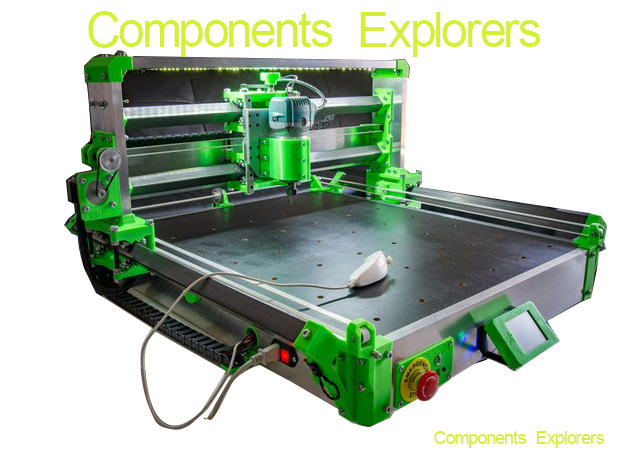 RS-CNC32 Created By Romaker,Resin Printed Parts Included