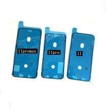 50 шт. высокое качество водонепроницаемый стикер для iPhone 11 Pro Max клей предварительно вырезанный ЖК-экран Рамка лента запасные части