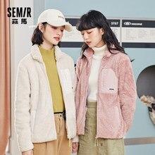 SEMIR – veste en polaire pour femme, nouveau manteau, en tissu éponge, assorti, petit parfum, automne et hiver, 2021
