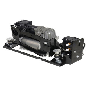 Image 5 - New Air Suspension Compressor With Suspension Valve Bracket For BMW F01 F02 F03 F04 730I 740i 740Li 750i 750Li 760Li 37206864215