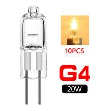Lamps Light-Bulb Halogen 20w 12v 10pcs Tungsten G4 G4-Base Energy-Saving Jc-Type Wholesale