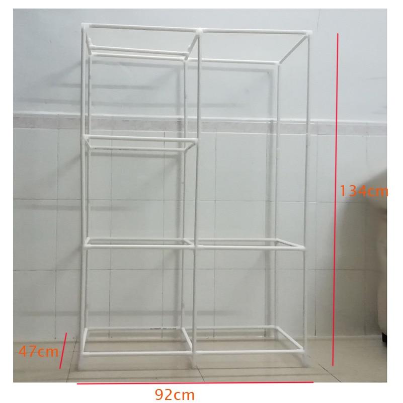 Simple wardrobe shelf for children -4-size
