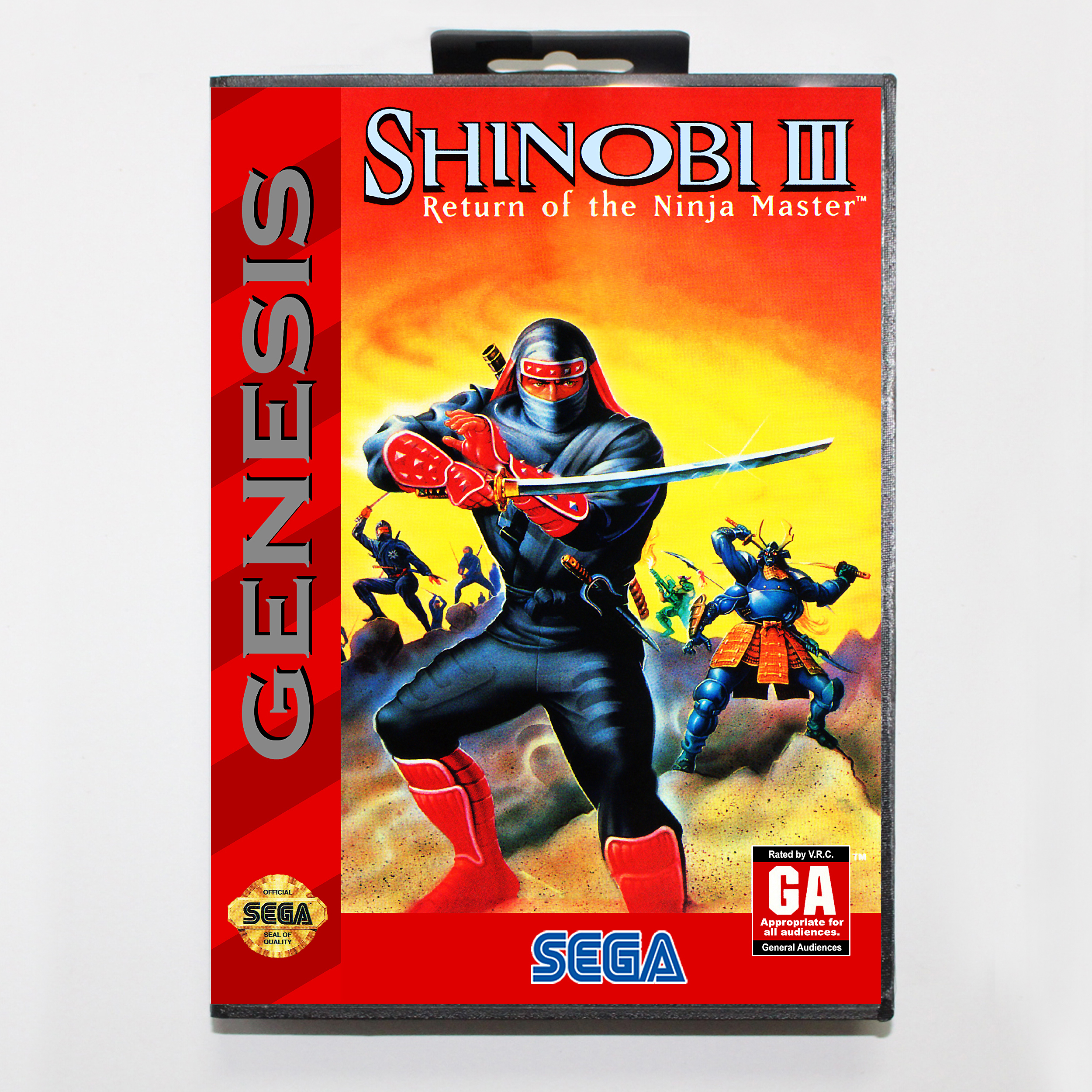 Shinobi III Return of the Ninja Master Boxed Version 16bit MD Game Card For Sega MegaDrive Sega Genesis System image