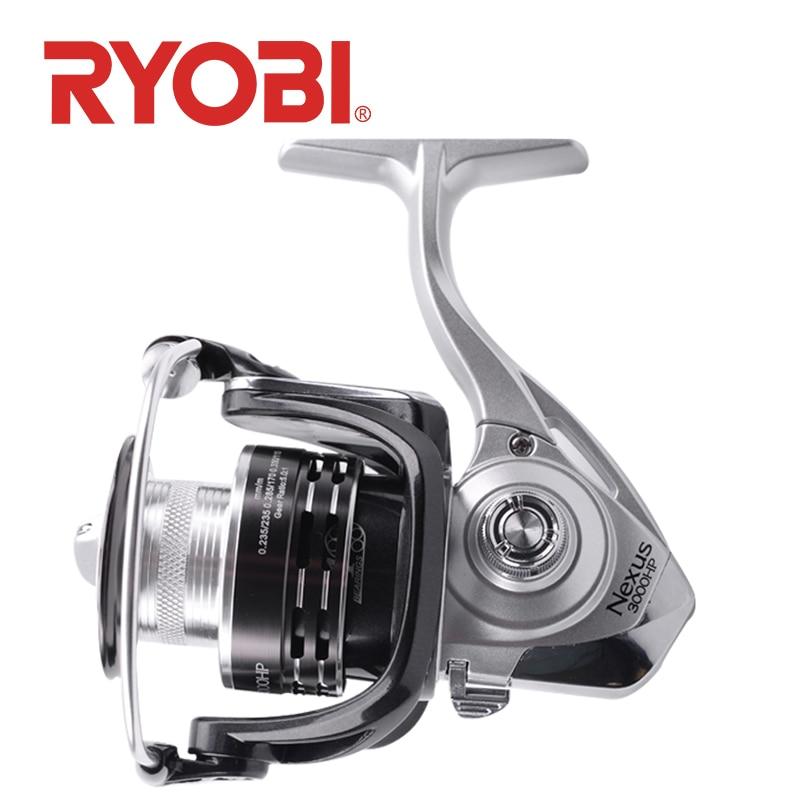 ryobi nexus hp molinetes de pesca fiacao 2000 3000 4000 4 1bb relacao de engrenagem 5