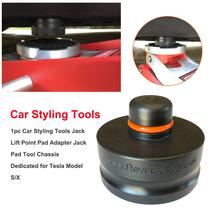 New Jack Lift Point Pad Rubber Car Styling Tools Jack Lift Point Pad Adapter Jack Pad Tool Chassis Deciated For Tesla Model S/X