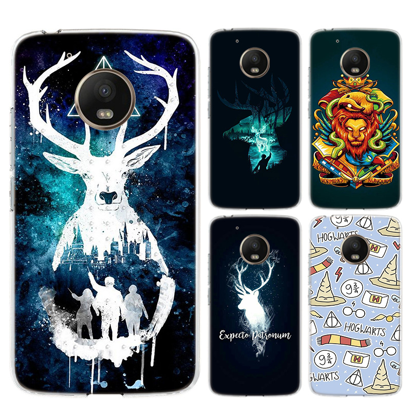 Lovely Potter Magic Riverdale Silicone Phone Back Case For Motorola MOTO G8 G7 Power Lite G5 G5S G6 E4 E5 E6 Plus G4 Play Cover