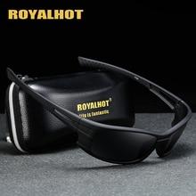 RoyalHot erkek kadın polarize rahat spor güneş gözlüğü Vintage güneş gözlüğü Retro gözlük Shades óculos masculino erkek 900180