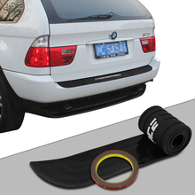 For BMW X3 f25 e83 X4 f26 X5 e70 e53 f15 f85 X6 New Performance Rubber Car Rear Bumper Trim Rear Guard Plate Protector Sticker