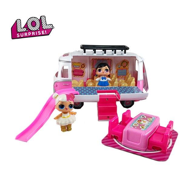 Lol Surprise Dolls Toy Mobile Picnic Car Family Games Pvc Action