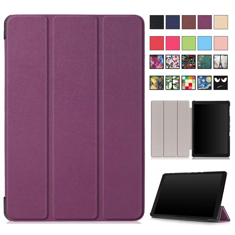 Flip Magnetic Case For Samsung Galaxy Tab A 10.5'' SM-T595 T590 T597 Tab A T595 10.5'' Folio Protective Tablet Case
