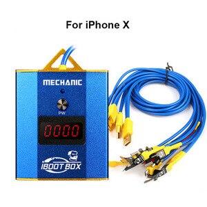 Image 3 - Cabo de fonte de alimentação mecânica iboot box, para iphone 6 6p 6s 6sp 7p 8p linha de fonte de alimentação de bateria x xs xsmax/samsung/android