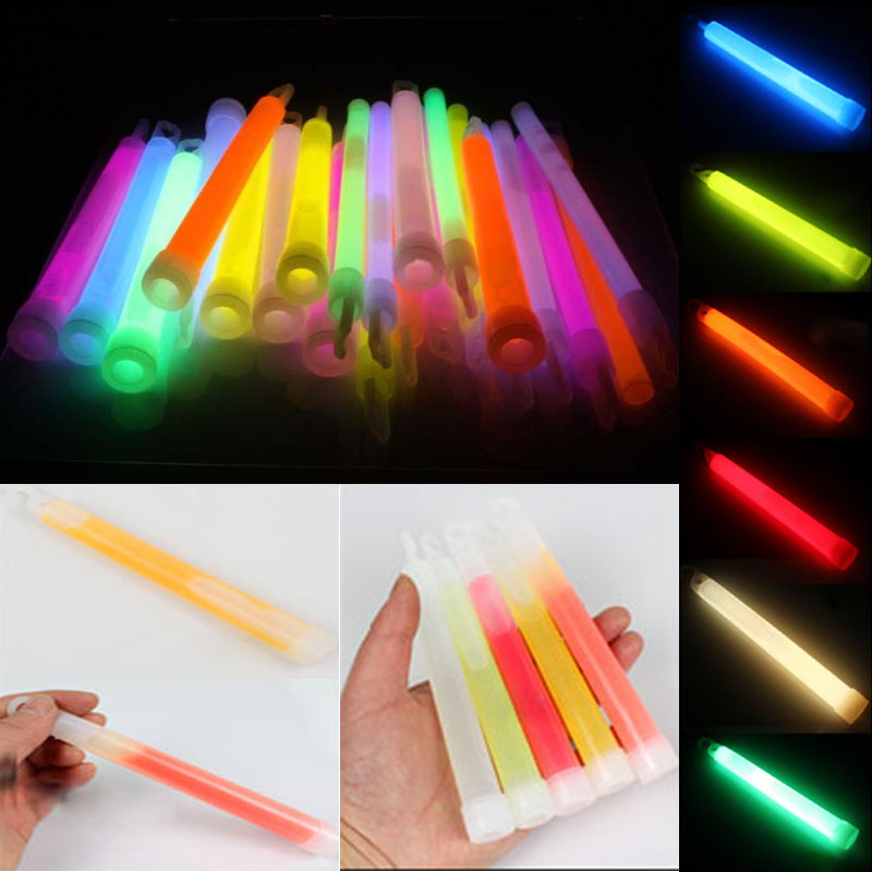 High Quality Concert Wilderness Glow Stick Fluorescent Multifunction Survival Camping Emergency Lights Glowstick