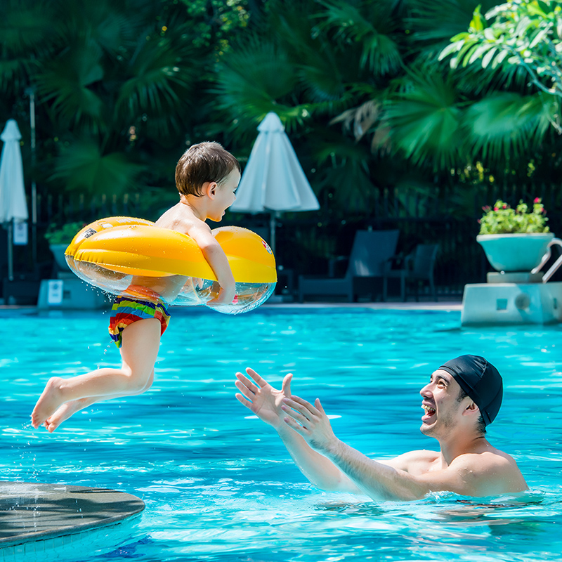 Free Swimming Baby Pool Accessories New Baby Swim Ring Infant Swimming Vest Float Kids Inflatable Swim Trainer For Children