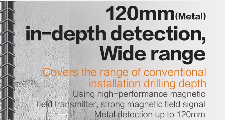 Metal in-depth detection