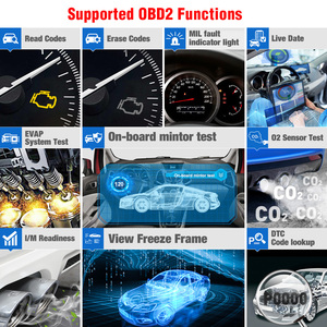 Image 5 - Launch Creader Crp123 OBD 2 diagnostic tool For ABS/SRS/GearBox/Engine System OBD2 Code Reader Launch crp123 PK NT650 Creade 8