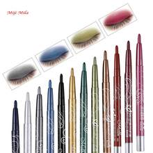 Miji Mila Eyeshadow Eyebrow Pencil Eyeliner Cosmetics Makeup Tools Makeup Revolution Neon Eyeshadow Pigment Eyeshadow(China)