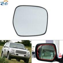 ZUK Esterno Retrovisore Lente A Specchio di Vetro Senza Funzione di Riscaldamento Per Toyota Land Cruiser 100 1998 2007 4700