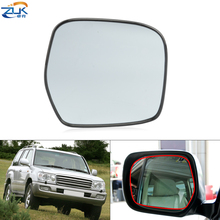 ZUK Exterior Rearview Mirror Lens Glass Without Heated Function For Toyota For Land Cruiser 100 1998 2007 4700
