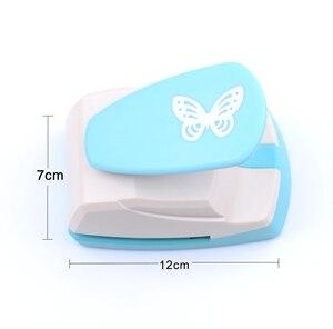 Image 2 - גדול פרפר חלול חור אגרופן 3D צורת נייר קאטר ילדים קרפט רעיונות אגרופים DIY כלים