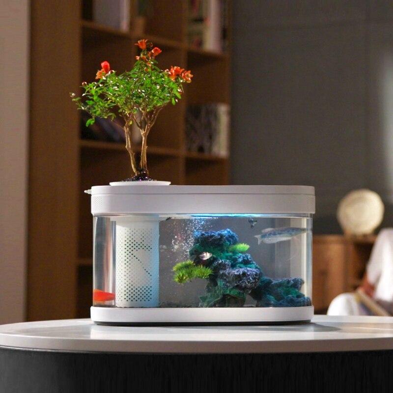 Pour Xiaomi Youpin HFJH géométrie Aquarium aquaponique écosystème Aquarium