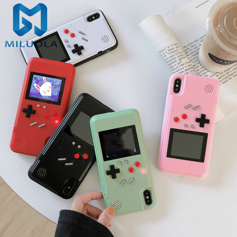 Dropshipping Retro Full Color Display Game Phone Case for iphone 11 11 pro 11 pro max
