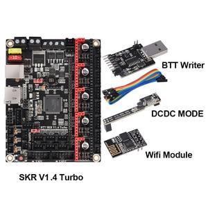Image 2 - BIGTREETECH SKR V1.4 Turbo BTT SKR V1.4 Control Board 3D Printer Parts MKS SGEN L TMC2209 tmc2208 CR10 Ender3 Upgrade SKR MINI