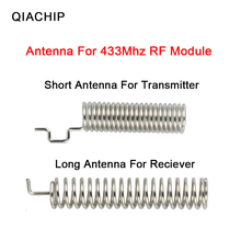 QIACHIP 10pcs/lot 433.92Mhz Wireless Remote Controls Antenna For 433mhz universal RF Receiver and transmitter Module