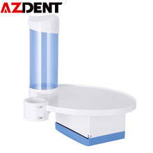 AZDENT 3 in 1 Dental Labor Stuhl Tablett Zubehör Einweg Tasse Halter Papier Tissue Box Zahnmedizin Oral DentistryCare Instrument(China)