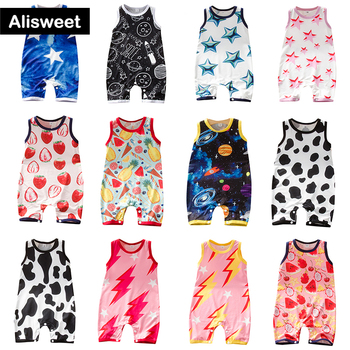 Baby Boys Girls Romper Cotton Short Sleeve Colorful Fruit Cow Star Jumpsuit Infant Clothing Autumn Newborn Baby Clothes izabebe baby boys girls romper cotton long sleeve jumpsuit infant clothing autumn newborn baby clothes