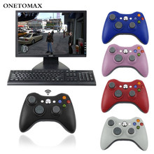 2.4G Wireless Gamepad For Xbox 360 Joystick Wireless Controller with PC Receiver For Windows 7 8 10 for Xbox 360 Games Joypad