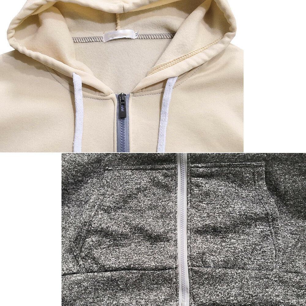 Newest Men Zip Up Casual Elastic Sweater Coat Tops Jacket Outwear Sweater Jogger Zipper Men Autumn Winter Hoody Sweatercoat J717 3