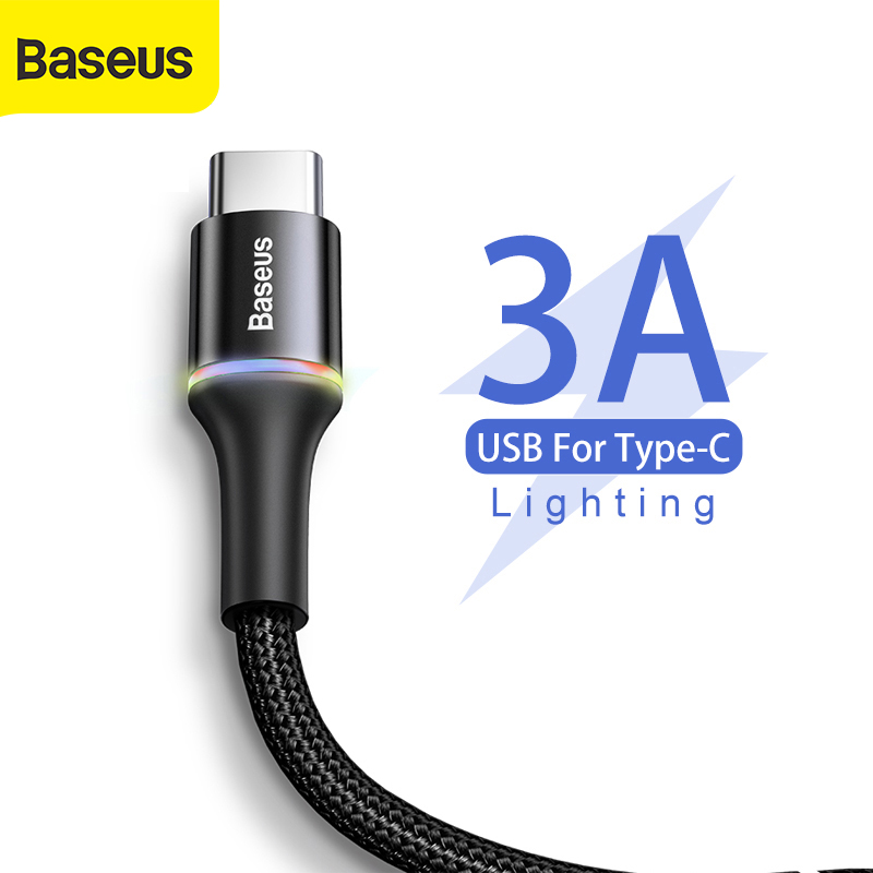 Baseus USB Type C Cable For Samsung for Xiaomi Redmi Note 7 Oneplus 7 Pro type C Charger Mobile Phone USB C Fast Charging Cable|Mobile Phone Cables| |  - AliExpress