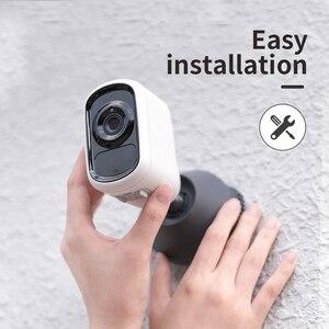 Image 5 - SDETER 2MP Rechargeable Battery IP Camera WIFI Outdoor Wireless Weatherproof Indoor IP65 Security Camera CCTV Motion Sensor P2P