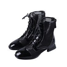 Fujin Hollow Sandal Boots Women's 2020 Spring All Match Brit
