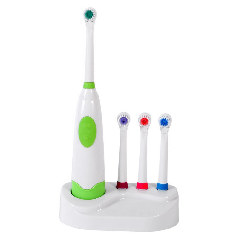 Top Deals Adults Electric Toothbrush Replacement Teeth Whitening Children Toothbrush Battery Powered Pro Dental Equipment Light image