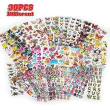 1000 + tipo 30 Lenzuola Adesivi Per I Bambini 3D Puffy Adesivi All'ingrosso per la Ragazza Ragazzo Regalo Di Compleanno Scrapbooking Animali Stelle Pesci cuori
