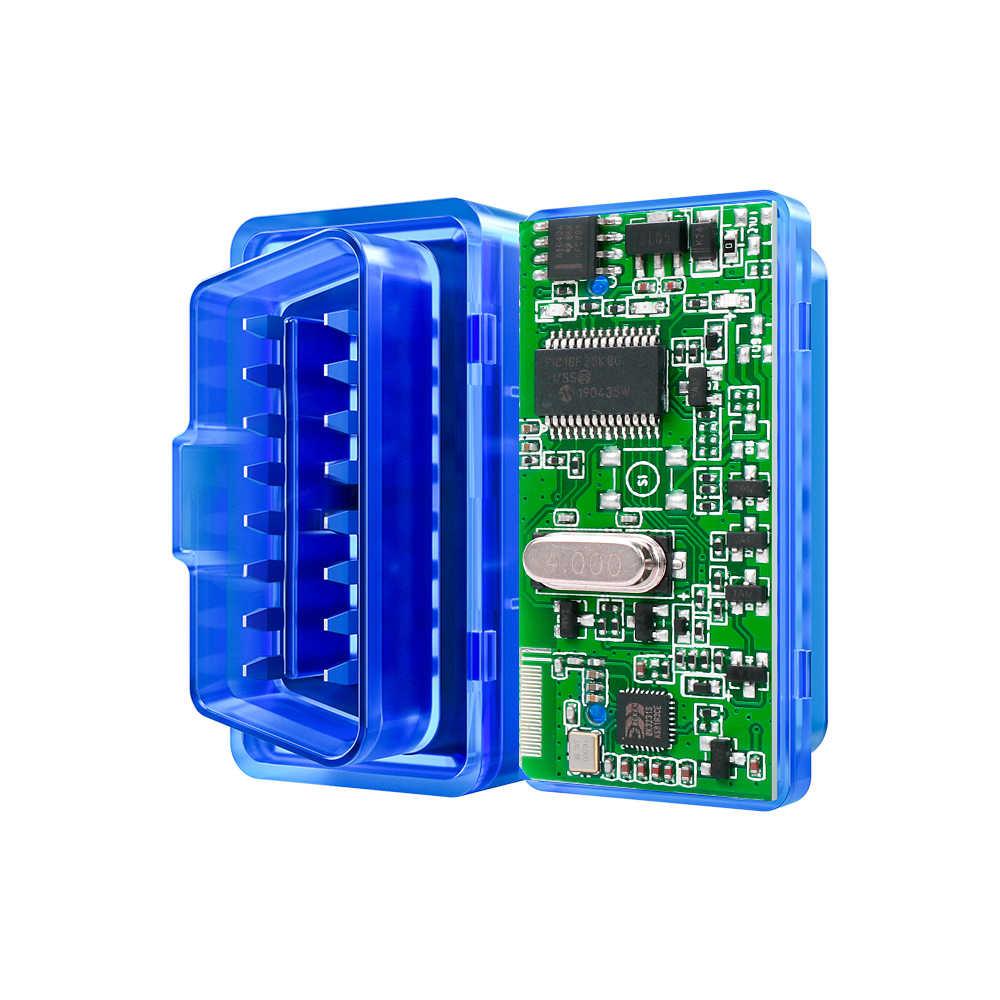 コードリーダー ELM327 V1.5 V2.1 bluetooth OBD2 スキャナ elm 327 bluetooth PIC18F25K80 自動診断ツール OBD2 アンドロイド/windows の/
