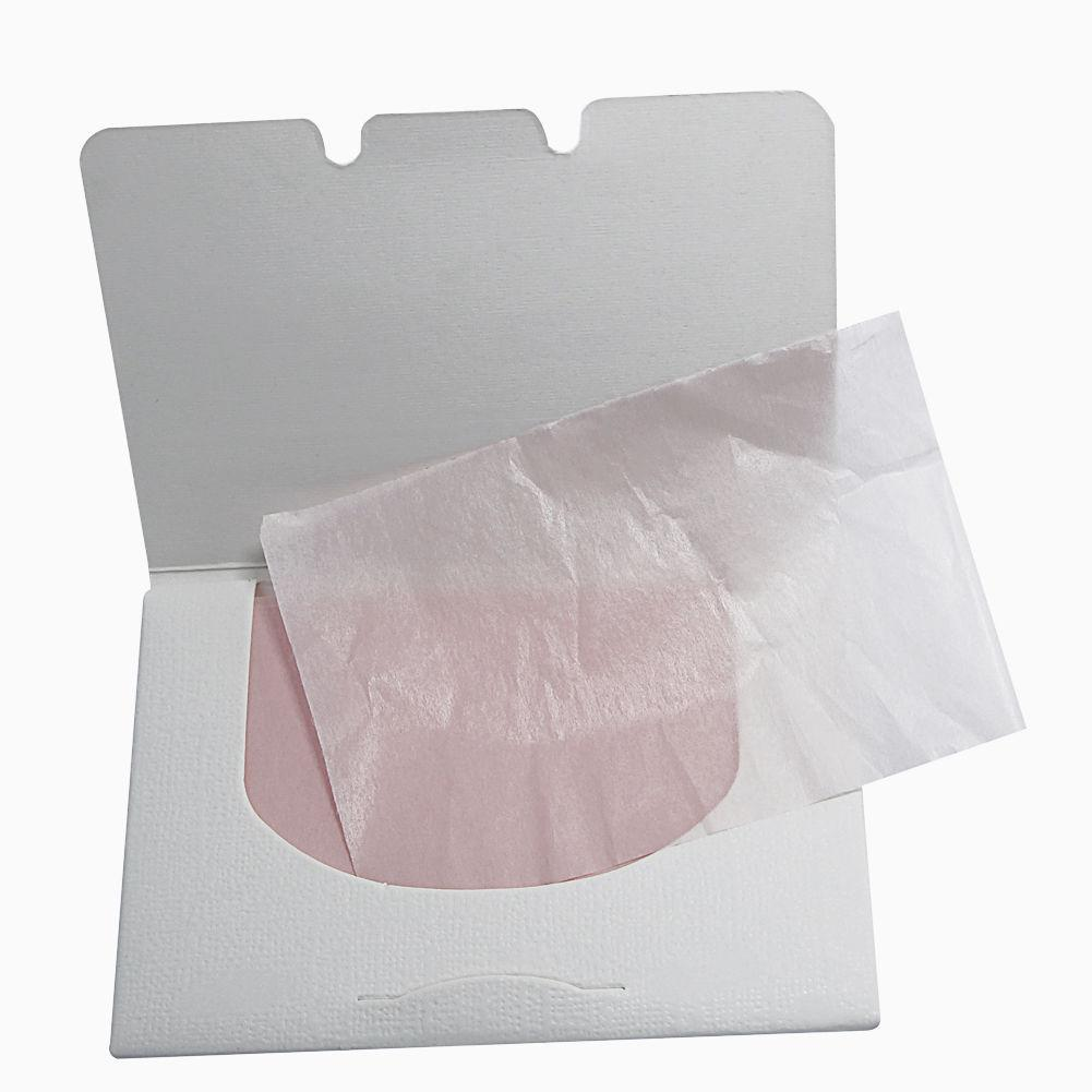 100Sheets Make Up Remover Tool Oil Absorbing Paper Blotting Plant Fibres Breathable Blotting Handkerchief Facial Cleaning