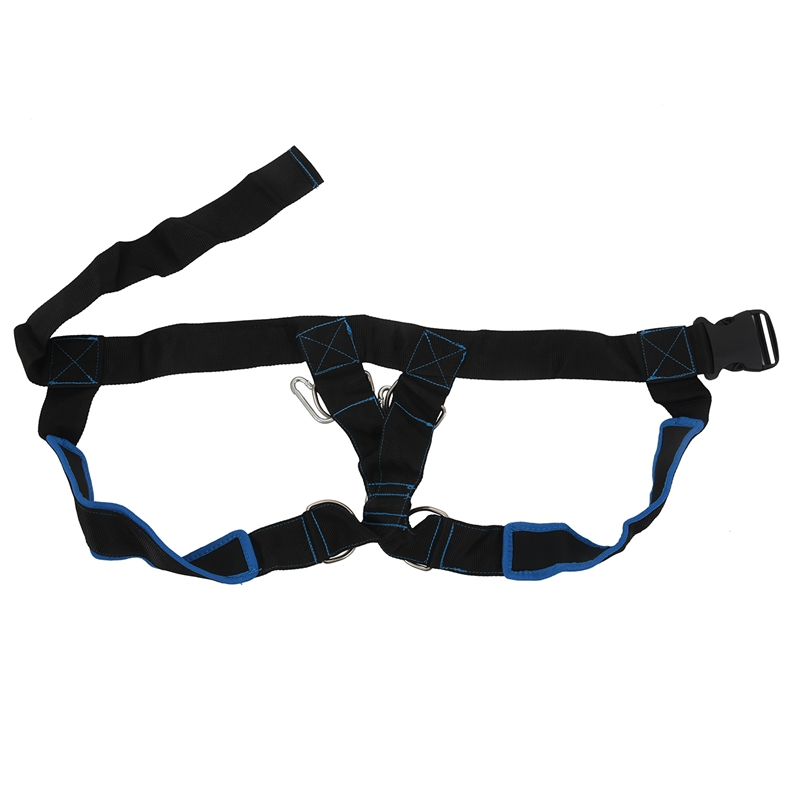 Speed Running Sled Shoulder Weight Training Straps Power Strength Harness Resistance Trainer 1Vest Fitness Equipment